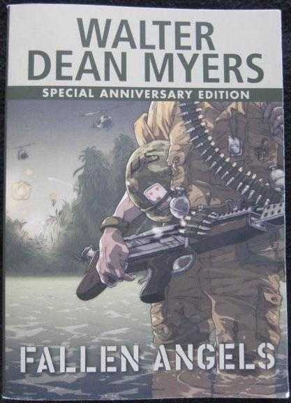 11. Fallen Angels by Walter Dean Myers: Challenged because the book is littered with expletives, including racial epithets and slang terms for homosexuals.