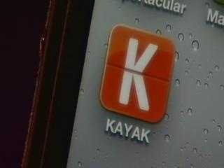KAYAK, the popular travel site, has created an app that makes it easy to search for hotels, flights, and car rentals while you're on the go.