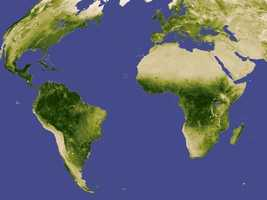 """Food, fuel and shelter: vegetation is one of the most important requirements for human populations around the world. Satellites monitor how """"green"""" different parts of the planet are and how that greenness changes over time. These observations help scientists understand the influence of natural cycles, such as drought and pest outbreaks, on vegetation, as well as human influences, such as land-clearing and global warming."""