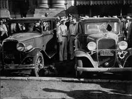 The Kansas City Massacre was depicted in the television film similarly named. The film follows FBI agent Melvin Purvis as he puts together a special squad to track down and capture Pretty Boy Floyd.