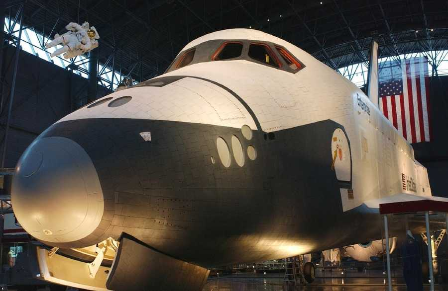 It will move from its current home at the National Air and Space Museum to the Intrepid Sea, Air & Space Museum in New York.