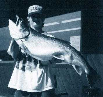 Trout, Lake (Salvelinus namaycush): 27 lb. 13 oz. -- caught by Tom Illar, Jr. of Apollo in 1996 at Lake Erie.