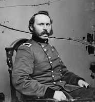 On July 2, 1863, Union General Joseph Bradford Carr (pictured) and his men fortified themselves inside the home.