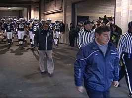 Still, it's hard to step inside and not imagine JoePa giving a pep talk to fire up the Nits.