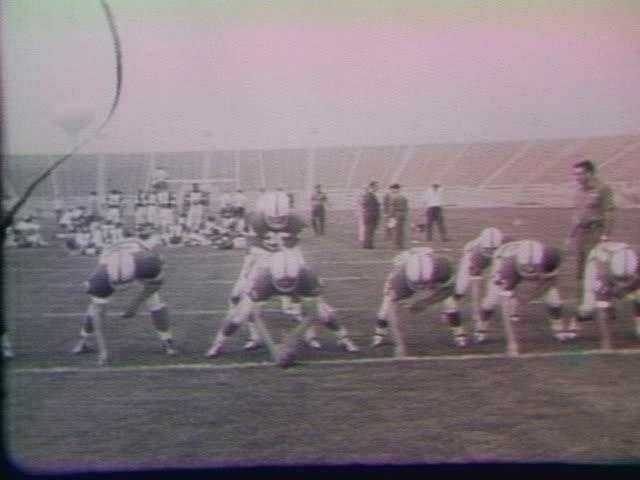 In the late 1950's, the school talked about moving the football stadium.