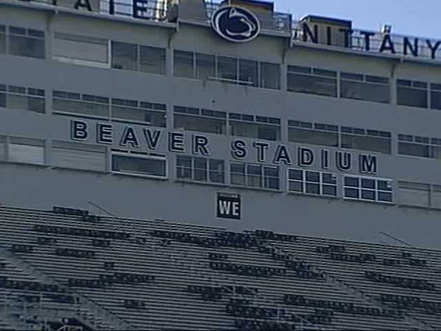 Beaver Stadium arrived here in 1960, and the stadium wasn't actually new at all.