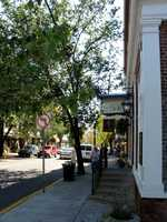 A scene of East Main Street in downtown Lititz.