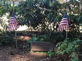 The remains of several unknown Revolutionary War soldiers are interred in Lititz. The men died between 1777 and 1778 after being wounded at the battles of Brandywine and Germantown.