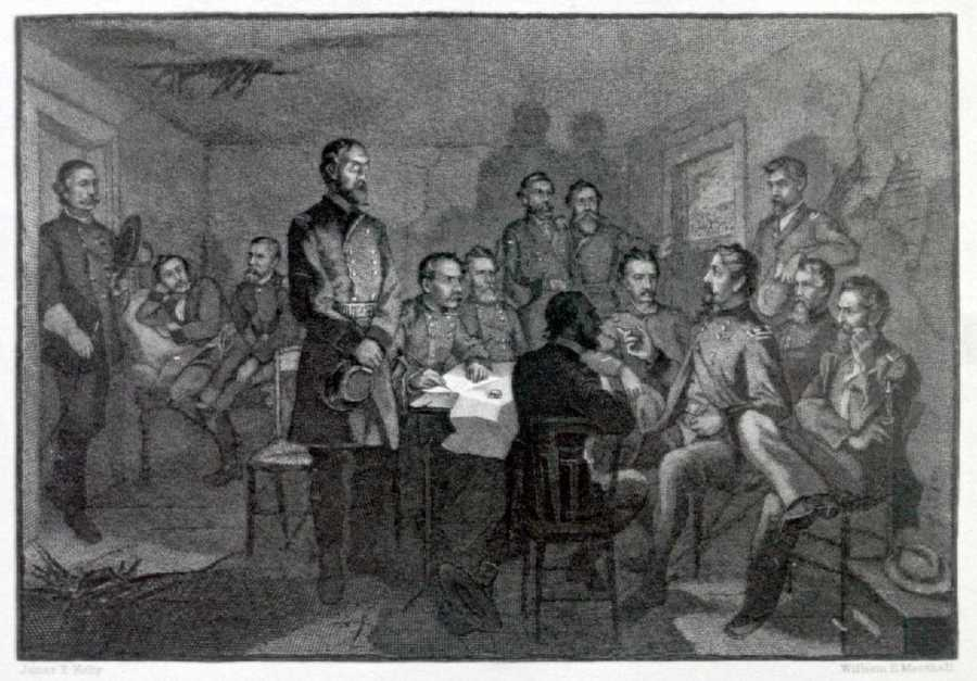 This engraving from the 1880s tried to capture the scene.