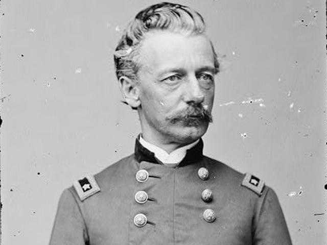 """The last general to have weighed in, Henry Slocum, is said to have put it most concisely -- """"Stay and fight it out!"""""""