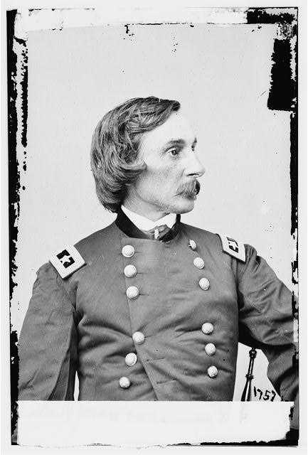 """The last of the generals mentioned on the previous page, General Warren, is known as the """"savior of Round Top."""" His last-minute defense is credited with saving that ground. The first day of the battle was an exhausting one for him."""