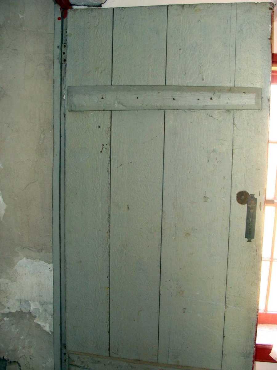 It is beyond this door.