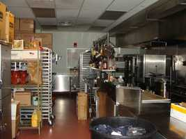 Eger runs the kitchen and all of the food for the suites come out of here.