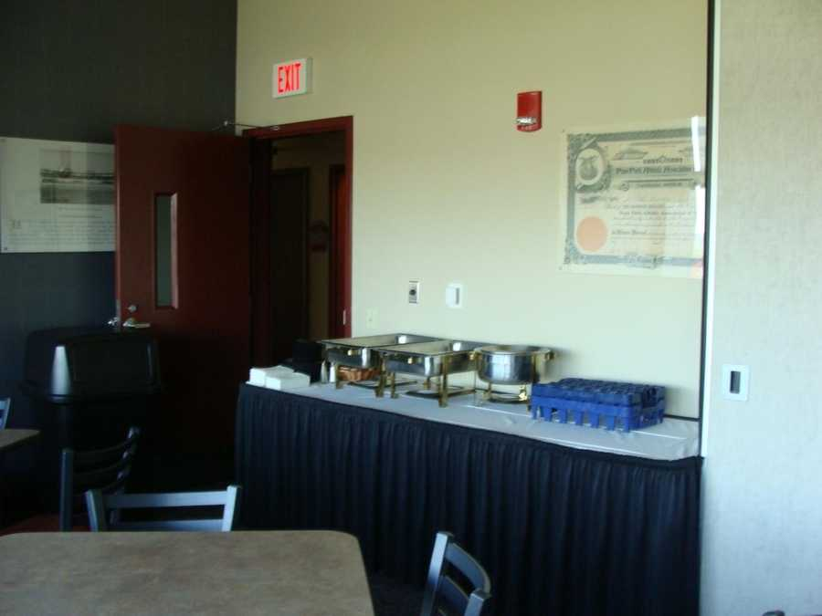 Suite rental for a group of 25 costs $1,000 -- $40 per person. That includes tickets and catering.