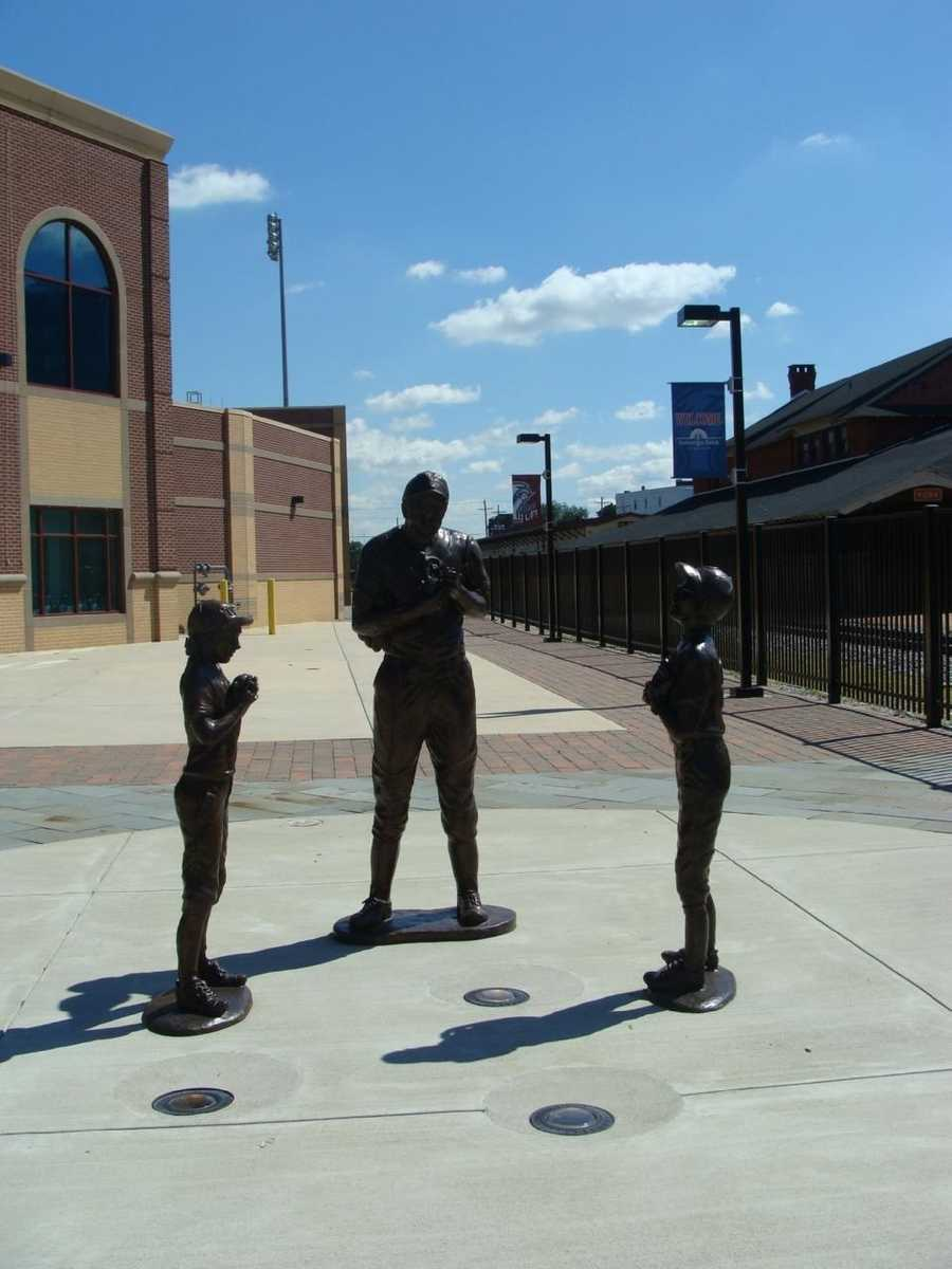 The first thing fans see when entering the main entrance to the stadium is the Brooks Robinson Plaza. The Plaza features a statue of Brooks Robinson, one of the greatest baseball icons, and information about his baseball career.