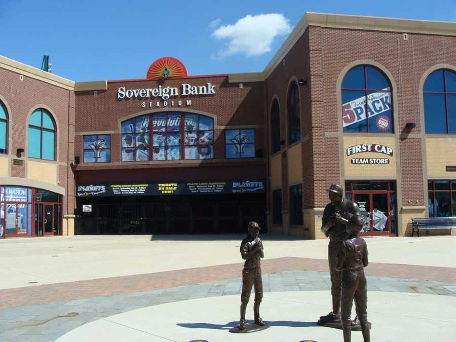 Sovereign Bank Stadium, home of the York Revolution, is located in downtown York and was open for play in 2007.
