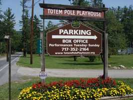 The Totem Pole Playhouse is a summer stock theater that opened in 1950.