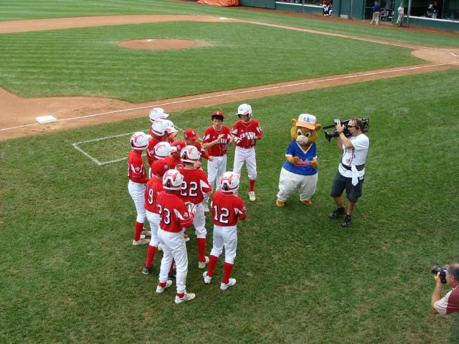 "Team Canada had some fun with ""Dugout"" in 2010."