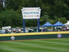 When the LLWS expanded from 8 to 16 teams in 2001, a second stadium -- Volunteer Stadium -- was built to serve as the site for additional games required for tournament play.