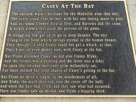 "The story of ""Casey at the Bat."""