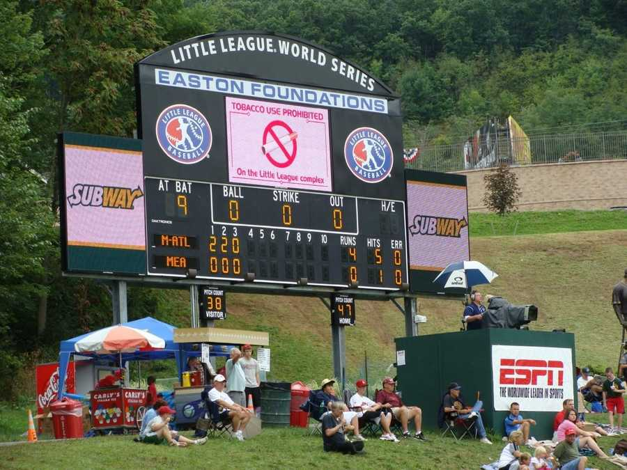 Girls are allowed to participate in the LLWS, although there also is a separate softball World Series. Girls were not allowed to participate in Little League until 1974.