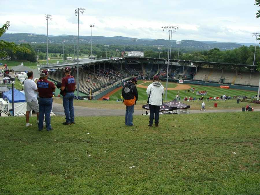 The Little League World Series is an international baseball tournament held for players between the ages of 11 and 13.
