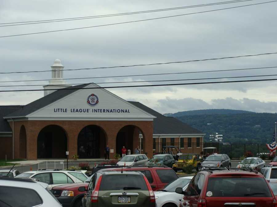 The first 12 LLWS were played in a different Williamsport location. Since 1959, it has been played on the South Williamsport site here, where Little League International is located.