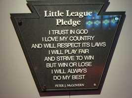 ... the Little League pledge.