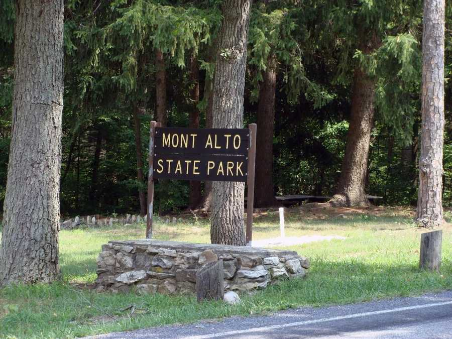 Pennsylvania's oldest state park, Mont Alto, is located in Franklin County.
