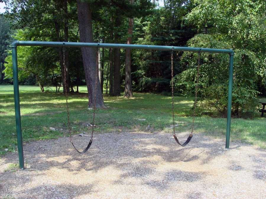 ... and swings are available.