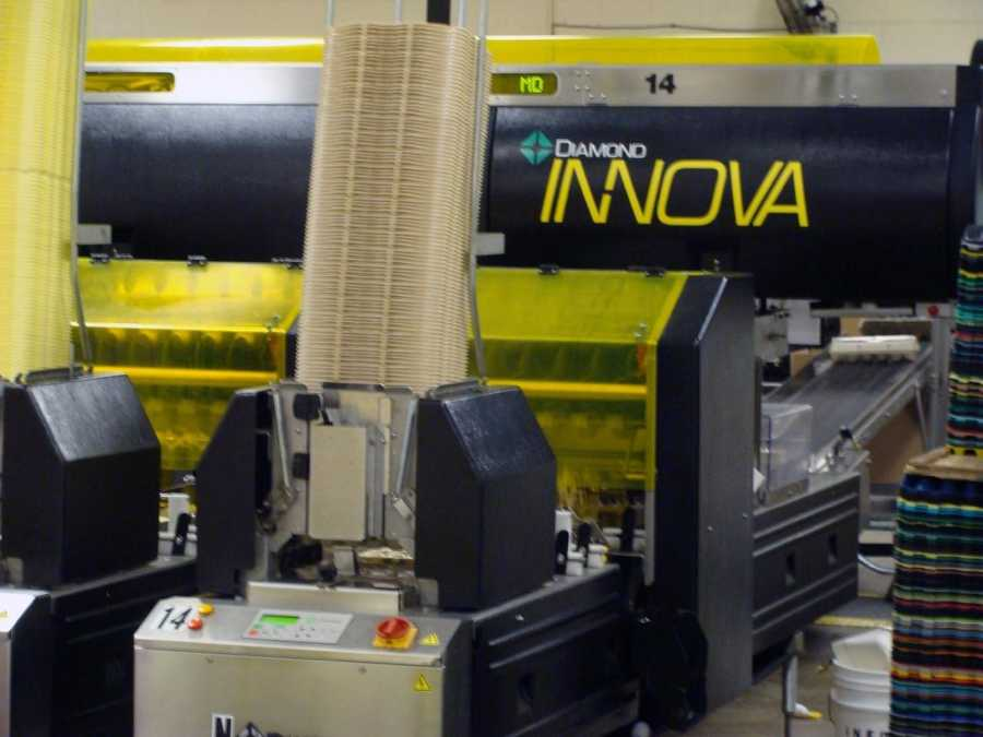 The production equipment in the Ephrata plant is valued at about $2 million.