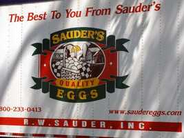 News 8 toured a Sauder's egg production facility in Ephrata, Lancaster County.