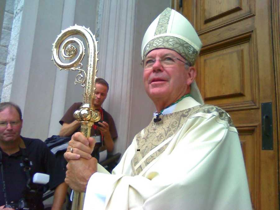 "Bishop McFadden was installed as the bishop of the Diocese of Harrisburg in Aug. 2010. Upon his installation, he said, ""I ask you to pray for me that I may be a good shepherd after the heart of Jesus. Pray that together we may be good builders of the kingdom of God in Harrisburg."""