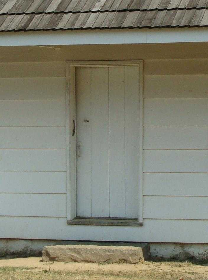 This is the front door.