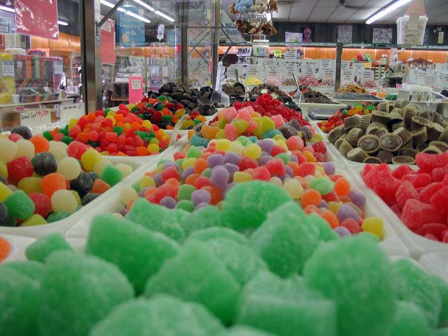 Candy is ready for somebody's sweet tooth at Smith's Candies along Route 422.