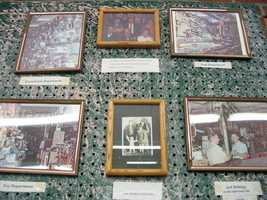 Family photos hang inside the Wilhelm Hardware Store, a Myerstown mainstay since 1881. The store is located at 16 S. Railroad St.