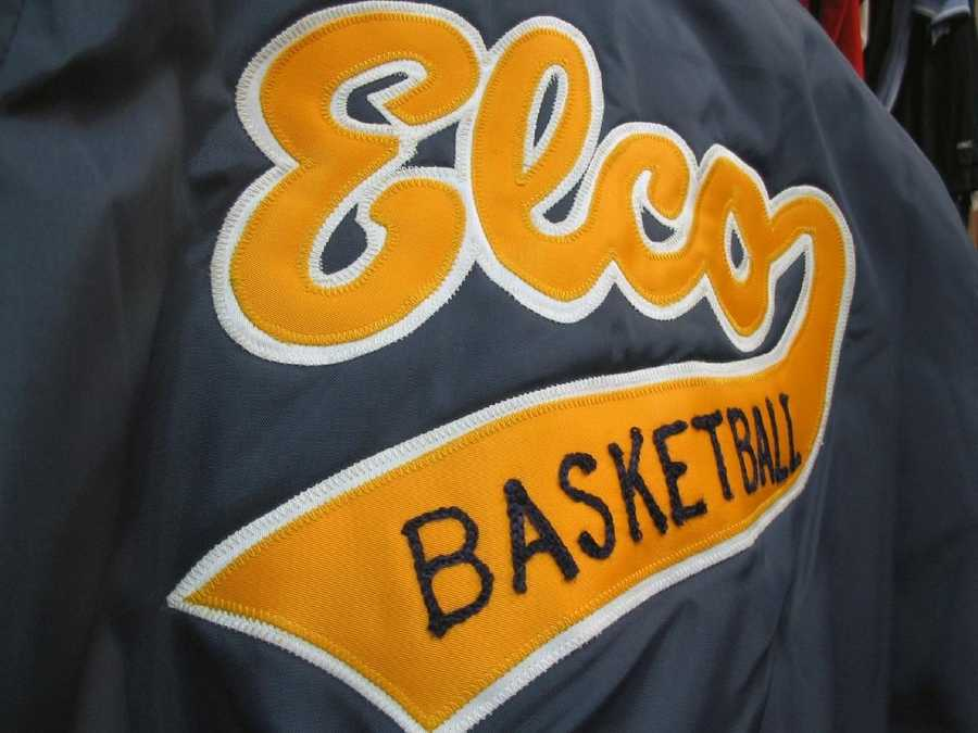 Laucks Sporting Goods sells the colors of the local high school, the Elco Raiders.