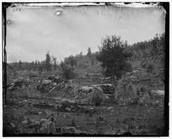 Here's a look at Little Round Top, photographed in 1863.