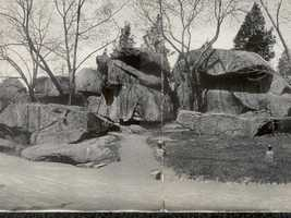 Here's a shot of Devil's Den from 1909.