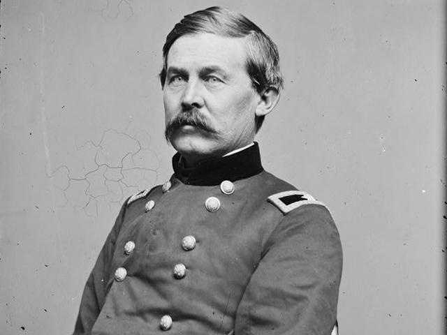 On the first day of the battle, Union General John Buford gained a high ground vantage point ...