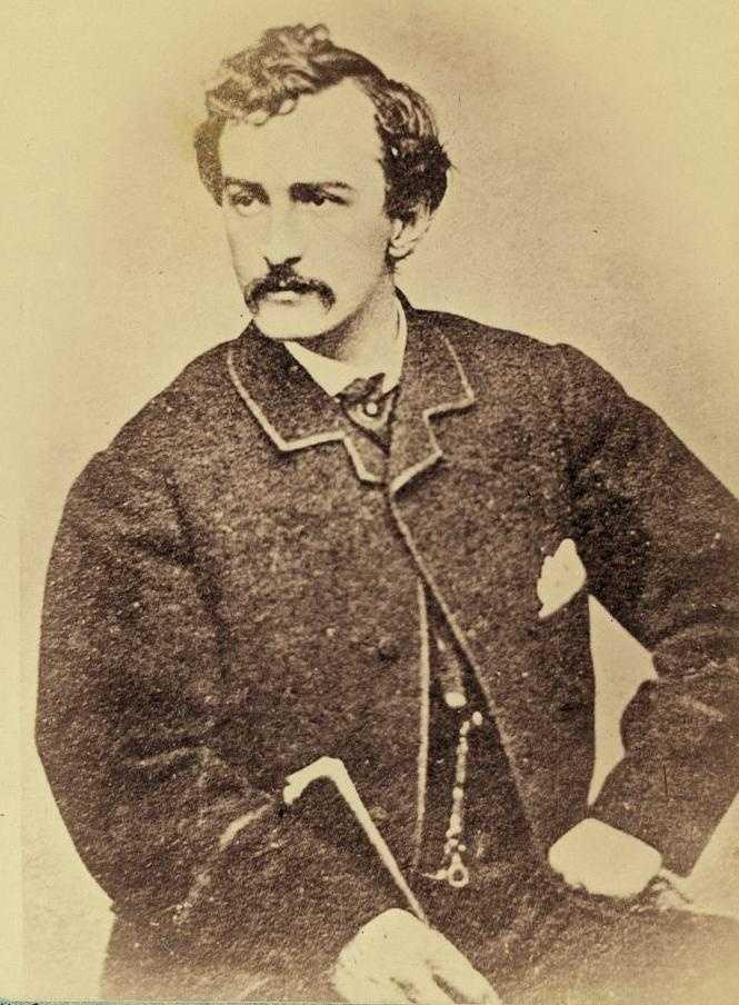... John Wilkes Booth.