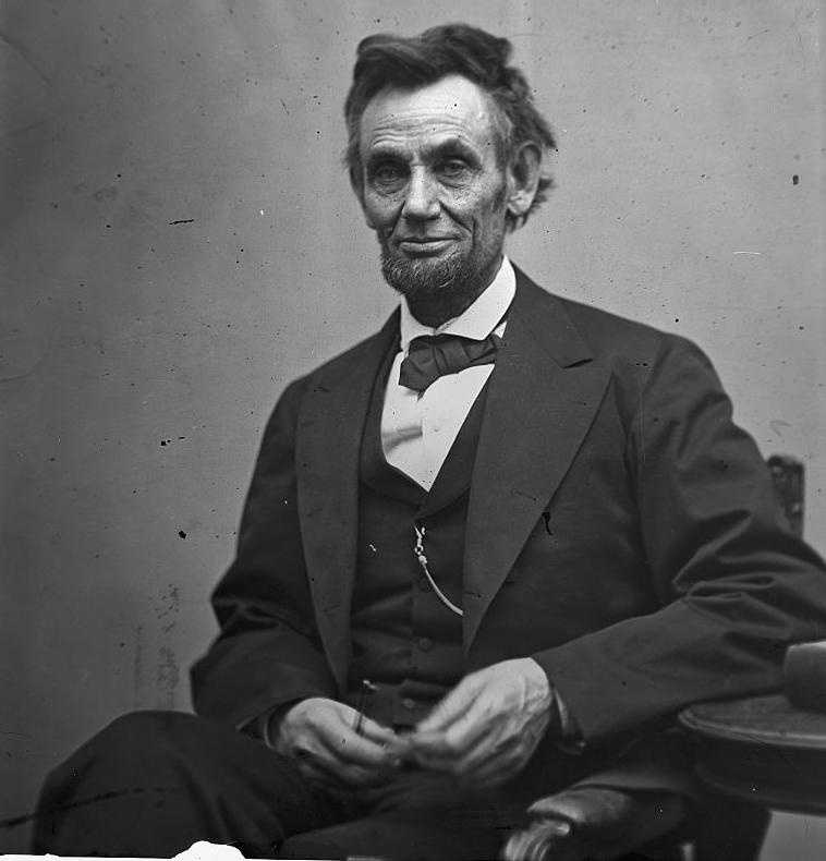 Burns eventually even met President Abraham Lincoln.