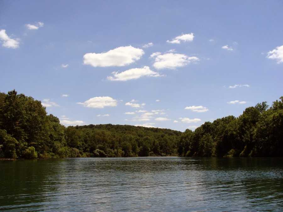 The 1,275-acre Lake Marburg has 26 miles of shoreline and is a rest stop for migrating waterfowl and shorebirds.