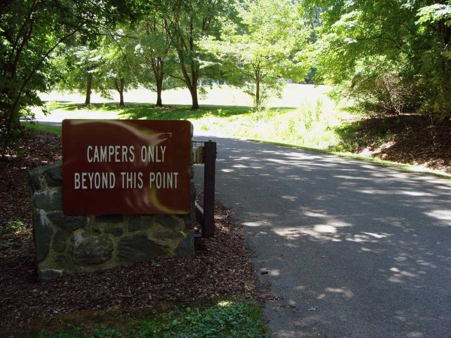 The park's campground opens the second Friday in April and closes November 1. The 190 campsites are suitable for tents or recreational vehicles up to 50 feet long.
