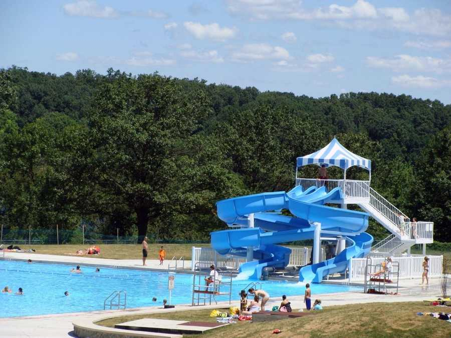 The pool's summer hours are 11 a.m. to 6:45 p.m.
