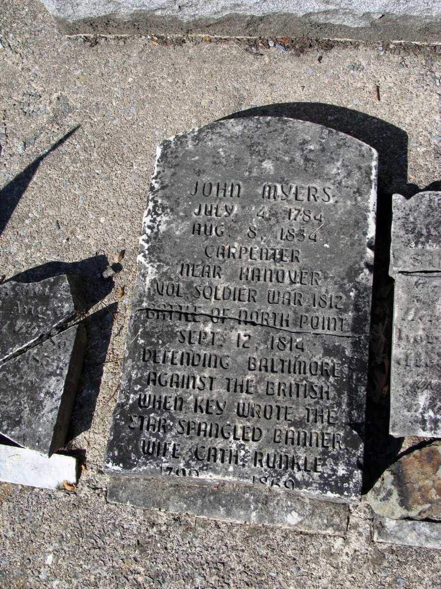 On a grassy knoll in the eastern part of the trail is Wildasin Cemetery, which has a tombstone dated 1722.