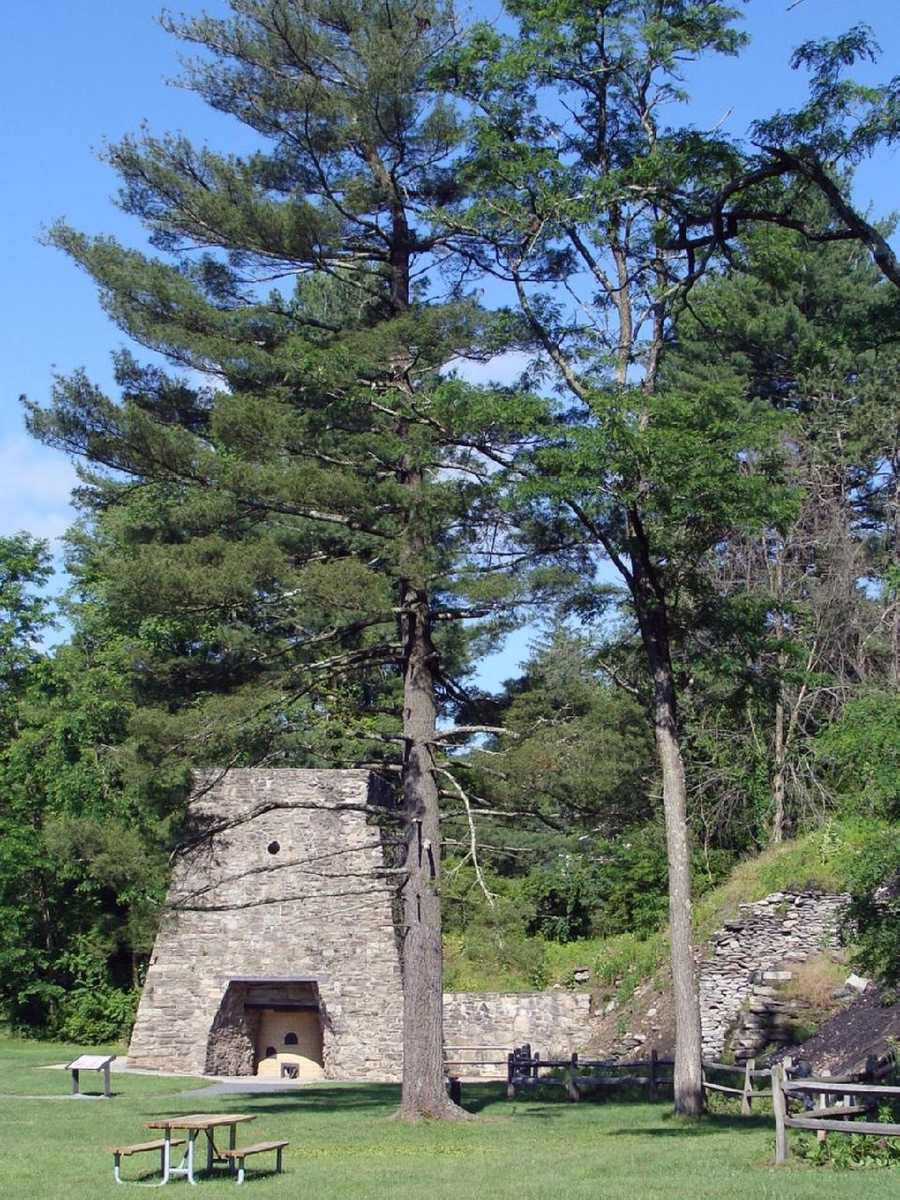 Click here for more history of the furnace and park.