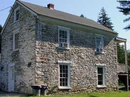 The paymaster's cabin is an historic home that is available for rent year-round. The cabin, which sleeps six people, is across the road from the camp store.