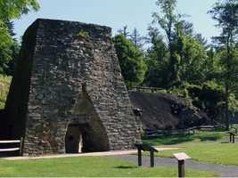 In 1764, partners George Stevenson, Robert Thornburgh and John Arthur built an iron furnace along Mountain Creek. They named it Pine Grove Iron Works.