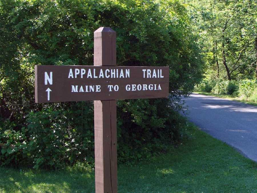 The trail touches 14 states ...